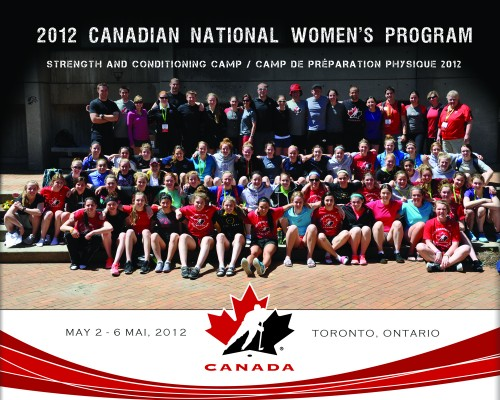 Toronto Physiotherapist at Hockey Canada Training Camp - May 2012